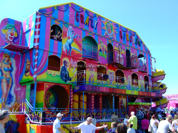 Image of a Circus Themed Fun House